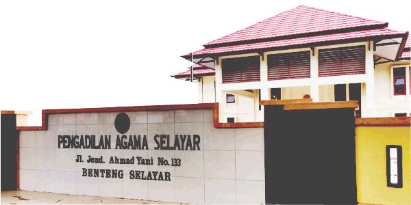 Website Resmi Pengadilan Agama Selayar